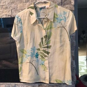 Tommy Bahama silk short sleeve shirt